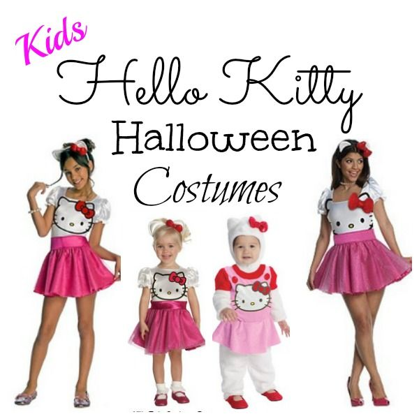 These are the cutest KIDS #HelloKitty Halloween Costumes!  Little girls love Hello Kitty and these are some of the prettiest ♥ ♥ CLICK HERE