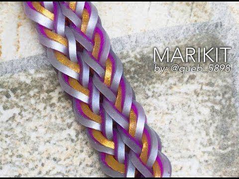 MARIKIT rainbow loom  Hook Only bracelet tutoria