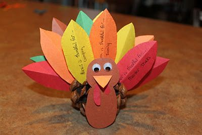 Thankful Pinecone Turkey:                                                                                                                                                                                 More
