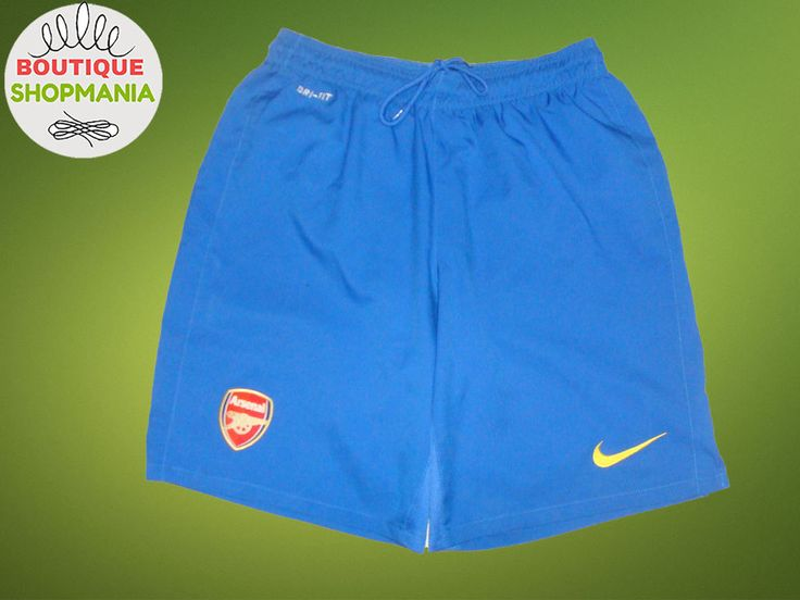 ARSENAL Away 2013-2014 (M) NIKE FOOTBALL SHORTS SOCCER #NIKE #ARSENAL
