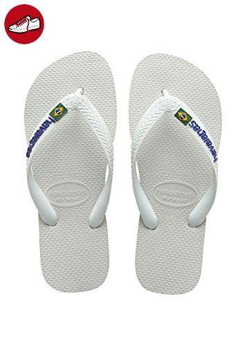 Havaianas Damen Flip Flops Slim Logo, Navy Blau Zehentrenner für Frauen, 27/28 EU (25/26 Brazilian)