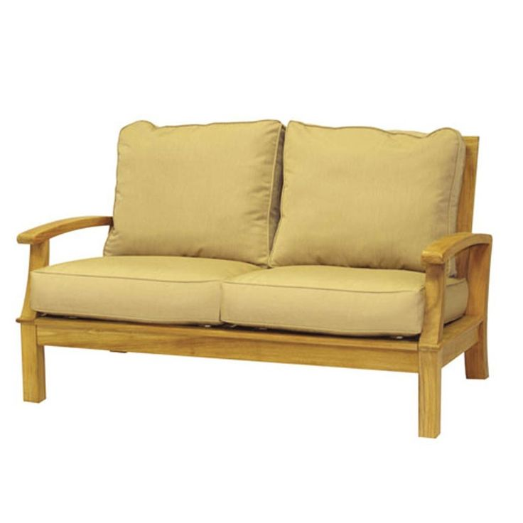 Three birds casual monterey deep seating 2 seat sofa for Casual couch