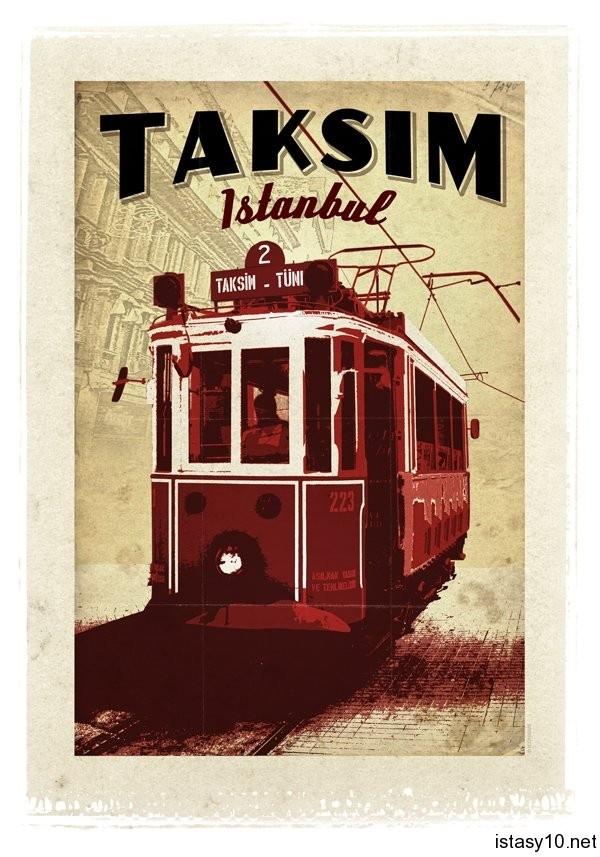 Taksim – Tramway