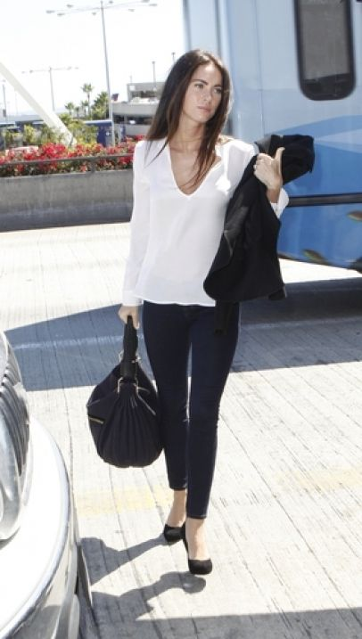 Megan Fox Travel style simple and sexy!