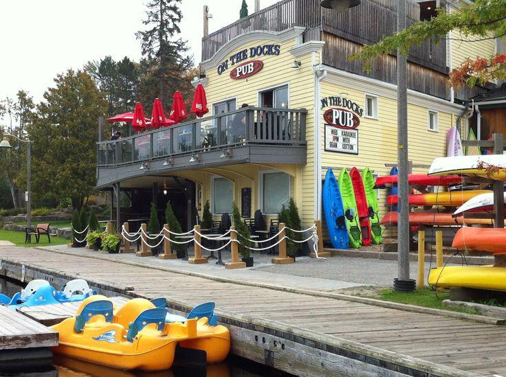 On the Docks Pub Huntsville, Ontario