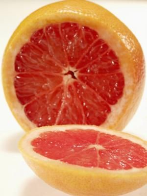 """A variety of grapefruit (Citrus paradisi), """"Ruby Red"""" yields  red seedless flesh inside its reddish yellow fruit. Also known as """"Redblush"""" grapefruit or just """"Ruby"""" grapefruit, """"Ruby Red""""  is a fast ..."""
