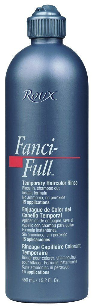 Roux Fanci-Full Temporary Hair Color Rinse - #21 - Plush Brown 15 oz. (Pack of 2). Quality you can trust from Roux. Great Value!.