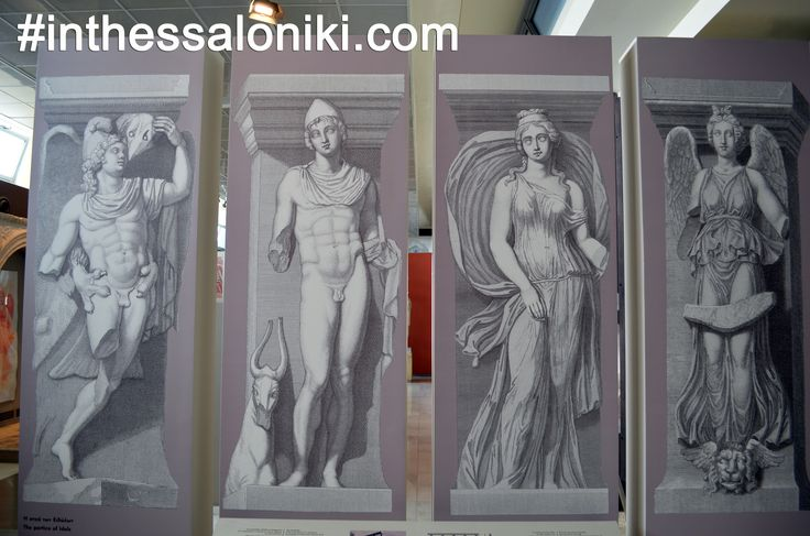 "● Illustration of the ""Incantadas"" a series of Roman sculptures related to the worship of Dionysos. The 4 surviving statues were removed in 1864 can be found today in the Louvre Museum.  ● Απεικόνιση των ¨Μαγεμένων"" (Incantadas) μιας σειράς από εξαιρετικά έργα αφιερωμένα σε λατρεία του Διονύσου. Σήμερα εκτίθενται στο μουσείο του Λούβρου.    #thessaloniki #archaeological #museum #incantadas #dionysous #statues #travel #greece #θεσσαλονικη #αρχαιολογικο#μουσειο #μακεδονια #ελλαδα #ελλας…"