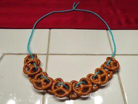 SugarSkull Industries: DIY Pretzel Necklaces