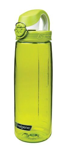 Nice Nalgene On The Fly Water Bottle (Green with Green/White Cap)
