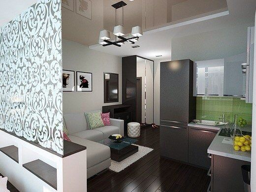 Jednoizbový byt s nádherným interiérom.. :D