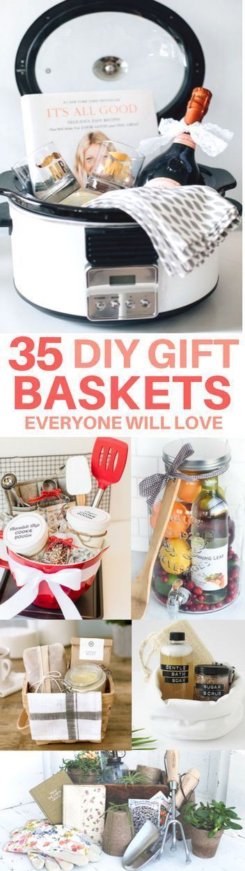 The BEST gift basket ideas you need to see! Includes gift basket theme ideas lik
