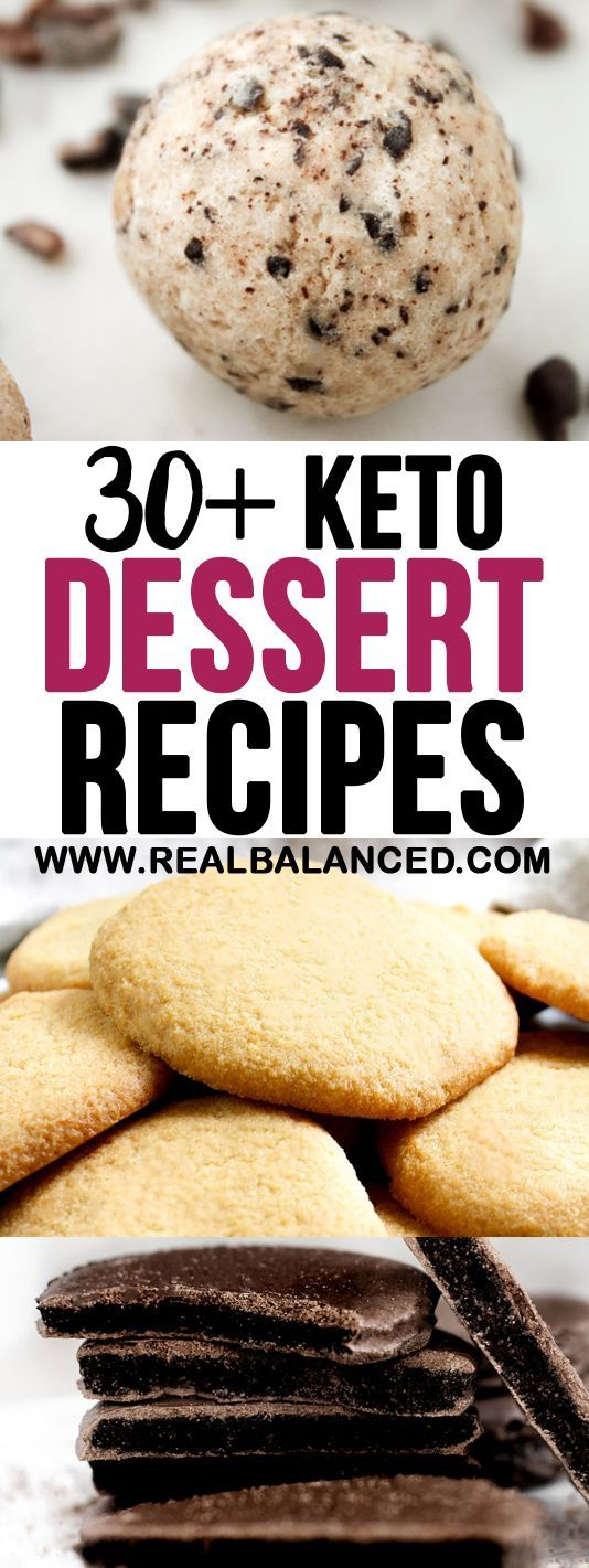 On the hunt for more keto-friendly dessert recipes? Look no further than these 30+ delicious and low-carb sweet treats! #keto #lowcarb #ketodessert #lowcarbdessert #ketogenic #ketorecipe #ketofatbomb #ketofatbombs #fatbomb #fatbombs