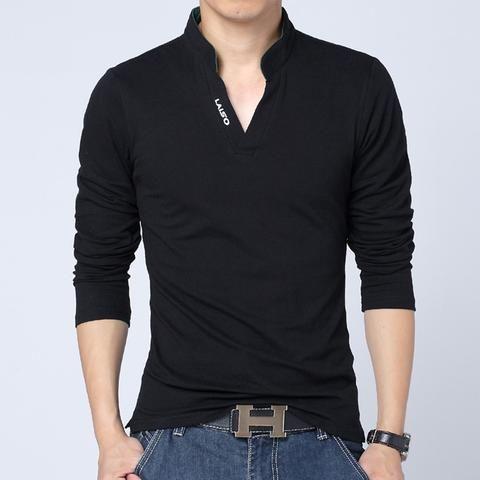 2017 camicia uomo casual slim fit shirt solid primavera