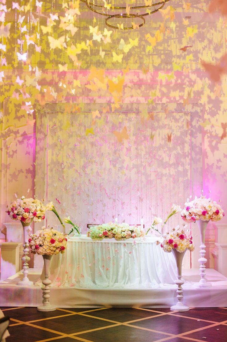 wedding idea, butterfly, flowers, floral