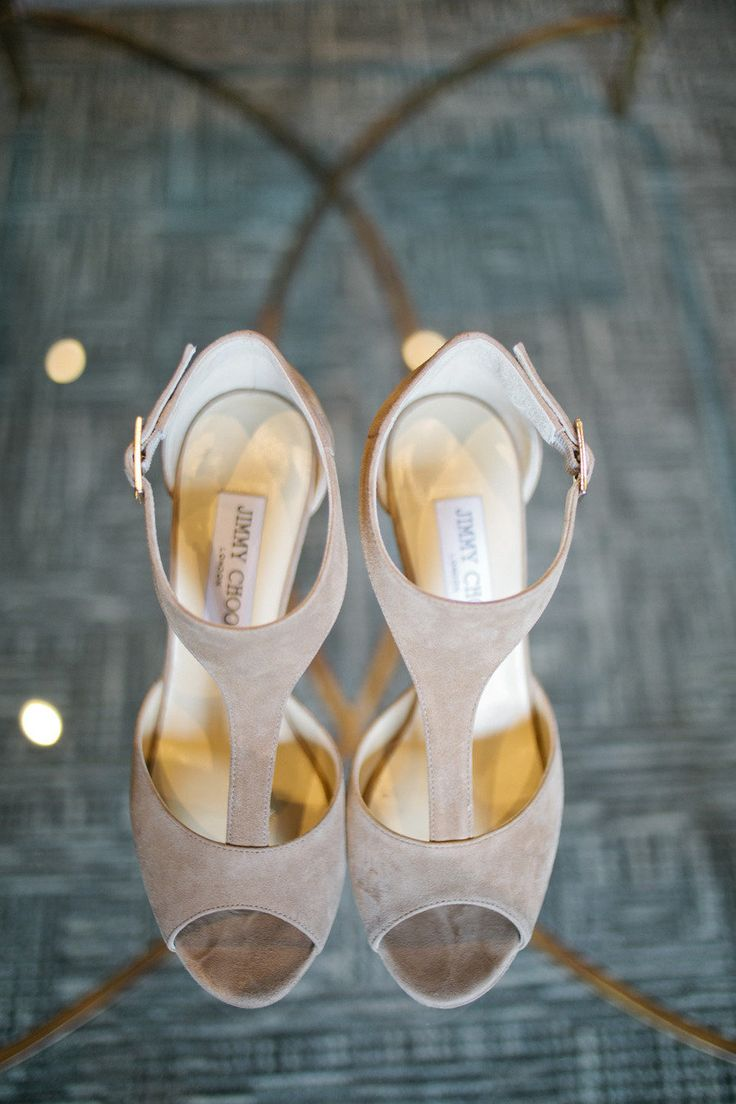 Stylish choos | Cambridge Mill Wedding from Debra Eby + Ashley Lindzon Events  Read more - http://www.stylemepretty.com/canada-weddings/2013/08/20/cambridge-mill-wedding-from-debra-eby-ashley-lindzon-events/