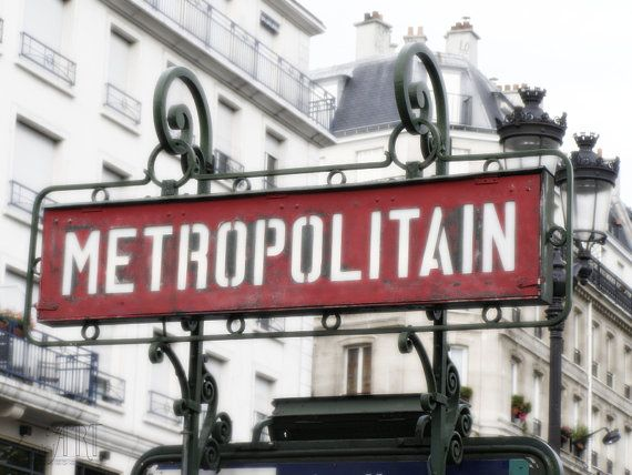 Paris print vintage french signboard in Paris wall decor fine art photography Paris photography art deco metropolitain 4x6 5x7 6x8 8x10 10x15  https://www.etsy.com/shop/AnnaKiperPhoto