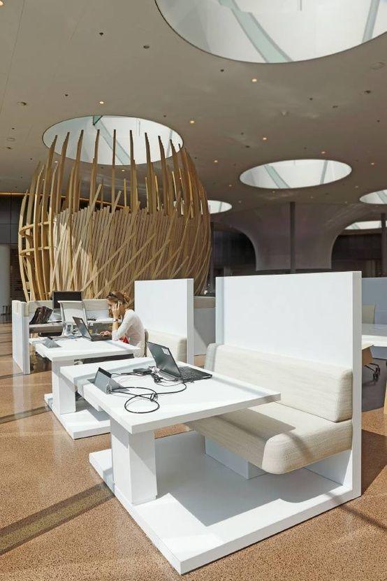 Rabobank Group (services financiers) – Siège social à Utrecht, Pays-Bas reprendre l'idée du resto - banquette