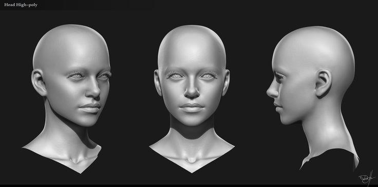 ArtStation - Jaina face, George Panfilov