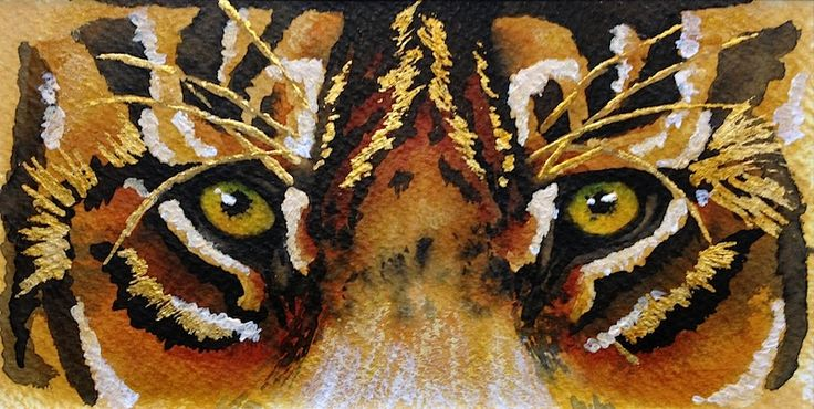 'BENGAL EYES' by Missy M Art for Sale - ART101 Art Gallery & Framing