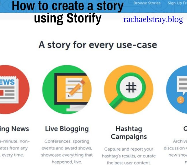 Storify is an amazing tool for curating content from social media such as Twitter, Facebook, YouTube, Flickr and Instagram. It's a useful way to look back at an event or specific chat that yo…