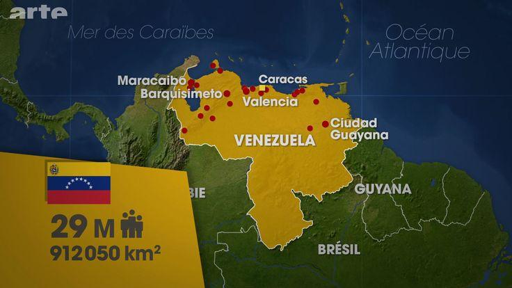 UNE POPULATION DIVERSE Le Venezuela se trouve au nord de l'Amérique du Sud, au bout de la cordillère des Andes. Sa superficie est de 912 000 km², et le pays compte 29 millions d'habitants, dont 50 % de métis – issus des brassages entre Blancs descendant de colons venus d'Espagne et du Portugal et esclaves noirs importés d'Afrique – 42 % de Blancs, 3,5 % de Noirs et 3 % d'Indiens. (Le dessous des cartes - VENEZUELA : LE CHAVISME SANS CHAVEZ | ARTE)