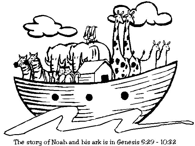 5 bible story coloring pages