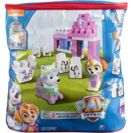 IONIX Jr. Paw Patrol Katie's Pet Parlor Block Set, Skye and Everest