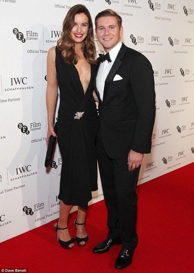 Allen Leech with girlfriend Charlie Webster..... - Celebrity Fashion Trends