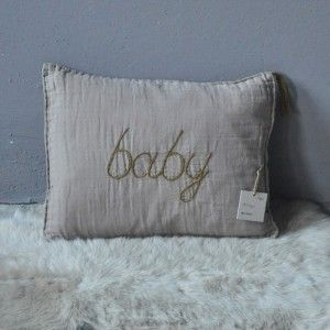 NUMERO 74 - COUSSIN BABY TAUPE