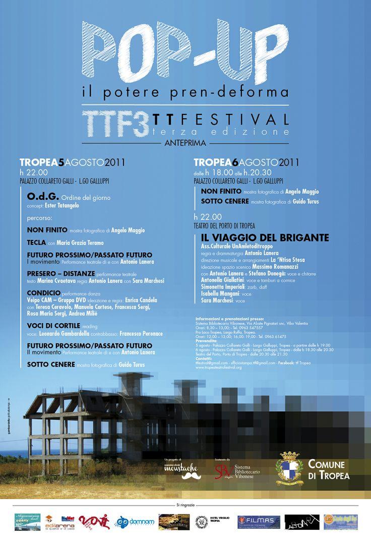 Tropea Teatro Festival 2011