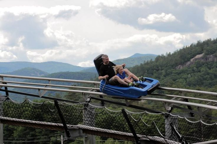 This New Hampshire Mountain Coaster Will Give You The Ride of A Lifetime