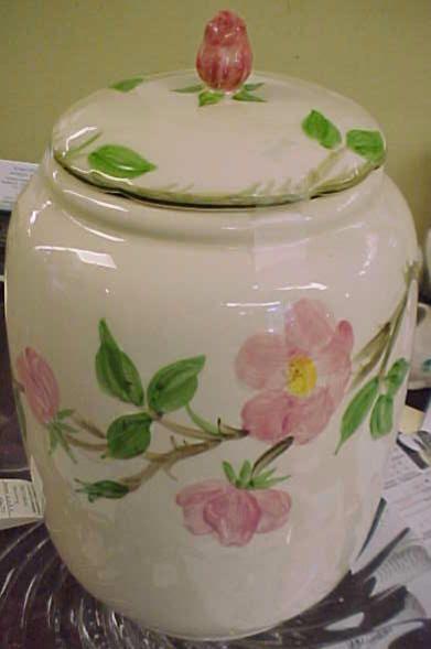 Desert Rose Cookie Jar - Angela's grandmother collected Desert Rose and Mrs. Cloud next door!