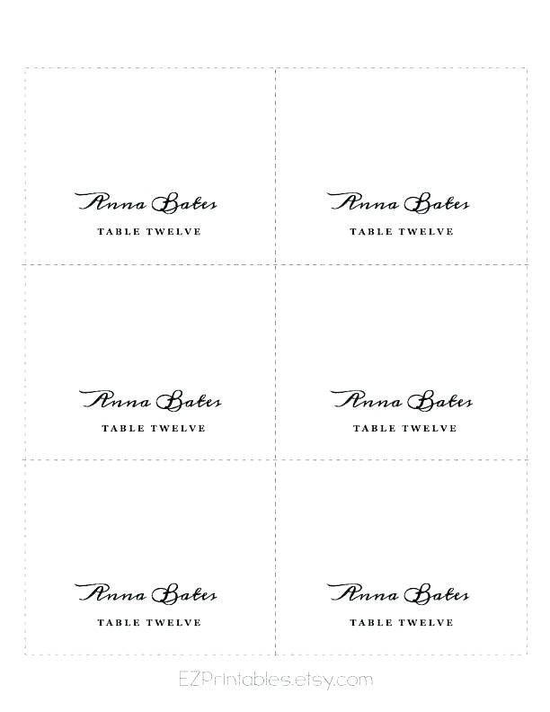 Fold Over Place Card Templates Beautiful Blank Foldable Template Kabapfinedtraveler Place Card Template Card Templates Wedding Place Card Templates