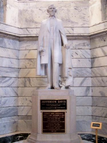 Jefferson Davis Statue, Kentucky State Capitol | Flickr - Photo Sharing!