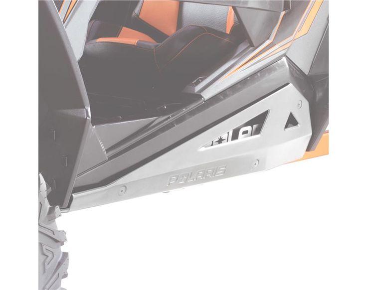 OEM White Lightning Low Pro Rock Sliders 2015-2017 Polaris RZR, RZR S & XC 900
