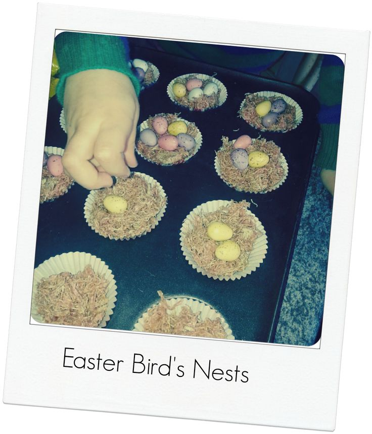 Emmys Mummy: Easter Birds Nests - Recipe
