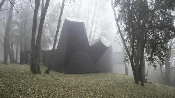 House for the Poem of the Right Angle, Vilches, Chile 2010-2012