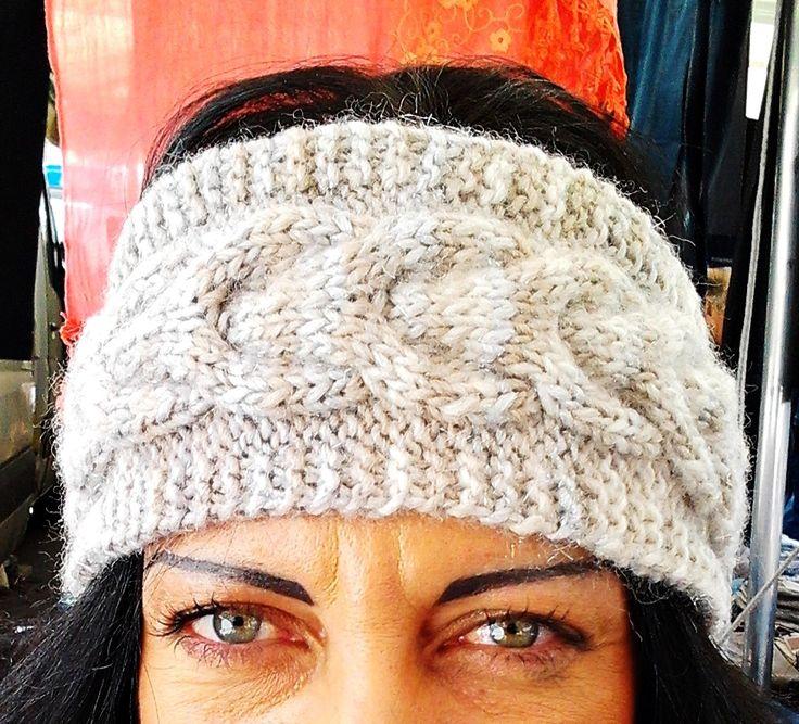 Fascia per capelli copri orecchie Infinity : Cappelli, berretti di corina-de-athiss-creazioni