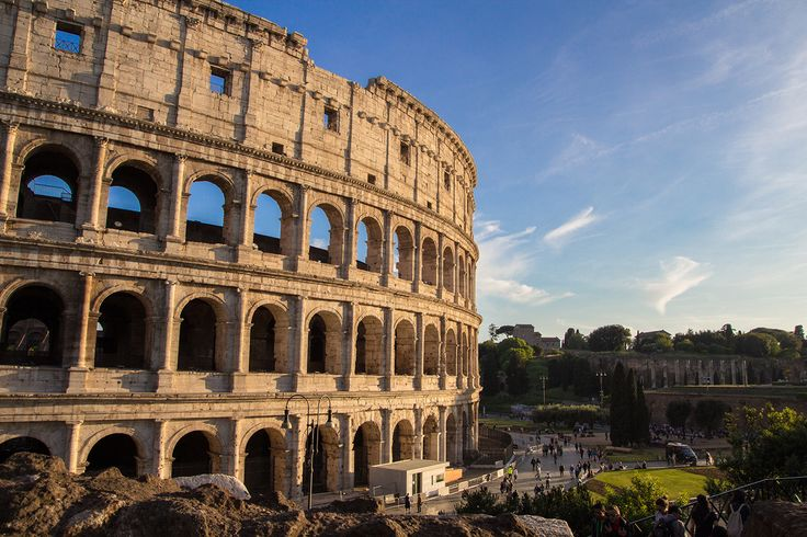 Het Colosseum in Rome, één van de zeven moderne wereldwonderen. #Roma #Italy