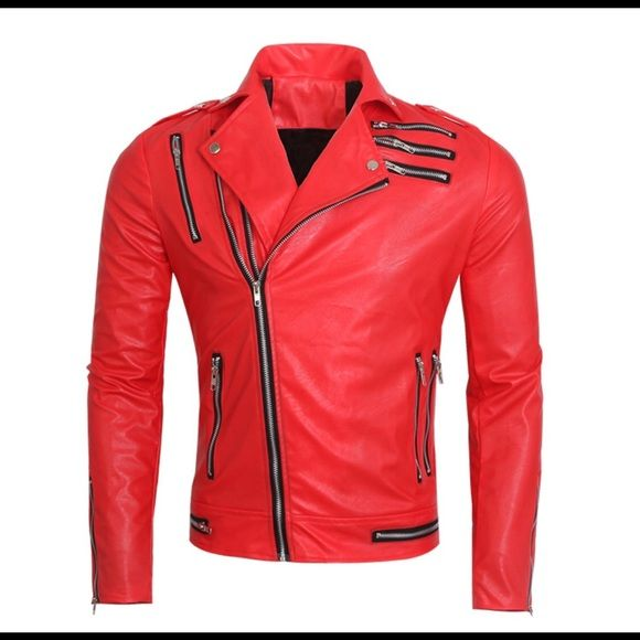 Red leather jacket cheap – Modern fashion jacket photo blog
