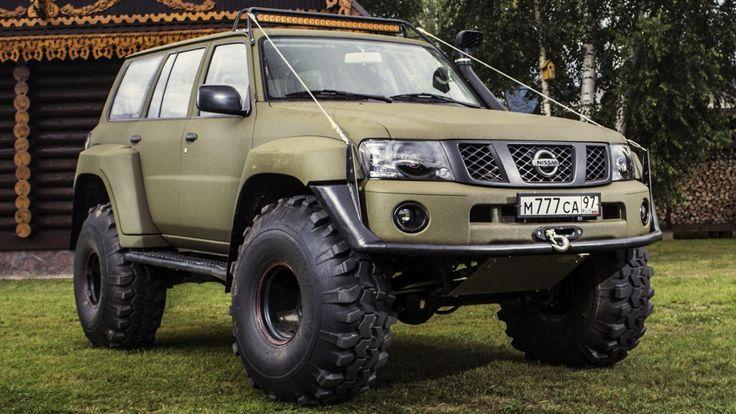 Nissan Patrol (Y61) OM Special Edit САВРАСКА