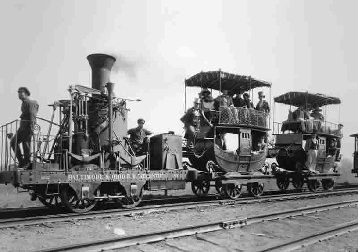 A very early locomotive and its train, A truly amazing photograph - railcar repair sample resume