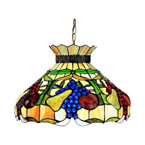 Tiffany lamps 17 pinterest z lite 1 light fruit themed pendant mozeypictures Images