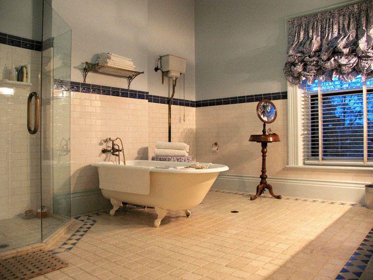 33 best vintage bathrooms images on pinterest bathroom for Victorian bathroom tiles ideas