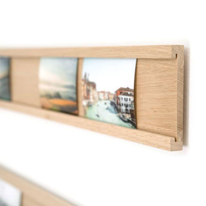 Connox Collection – Daily Gallery Fotoleiste 90 cm mit Schienen-Aufhängung, schwarz/hoch