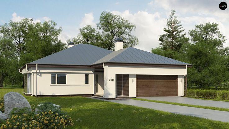 Проект дома Z200L+100