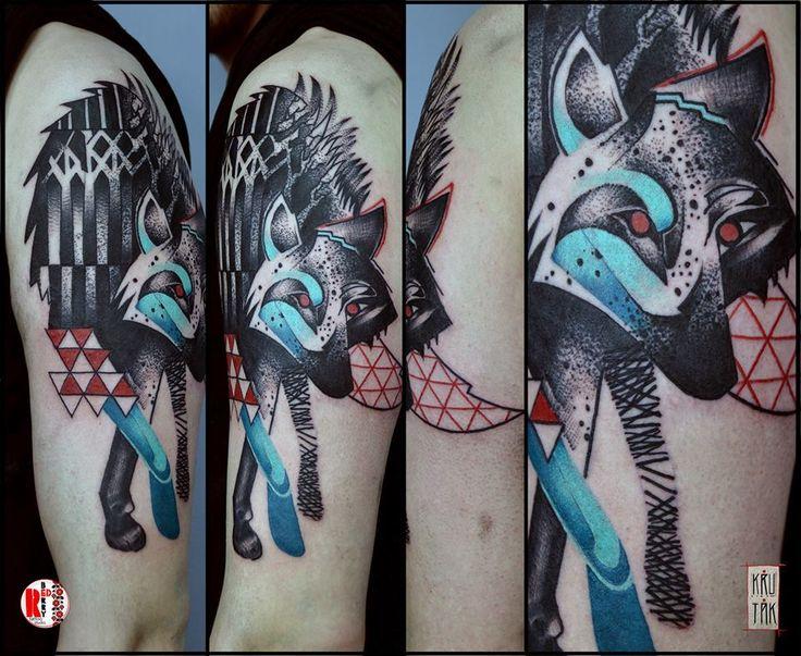 Redberry Tattoo Studio Wrocław #tattoo #inked #ink #studio #wroclaw #warszawa #tatuaz #gdansk #redberry #katowice #sosnowiec #bielskobiala #berlin #poland #krakow #krutak #labrujaproject #wilk #wolf