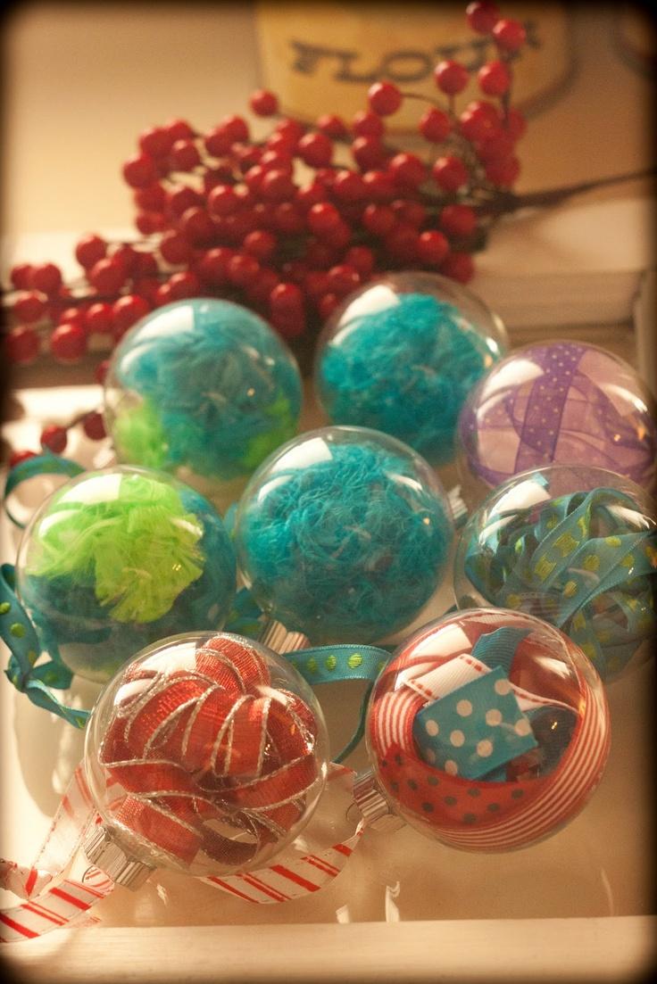 Cute DIY Ornaments 21 best Clear Christmas