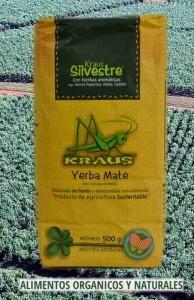 La Yerba Mate Kraus Silvestre es un producto de increíble sabor amargo dulzon y todas las propiedades medicinales propias de su naturaleza silvestre. Contiene Menta Peperina, Poleo y Cedrón